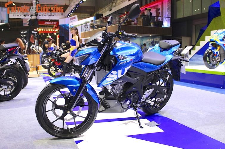 "Naked-bike Suzuki GSX-S150 tai Viet Nam ""chot gia"" the nao?"