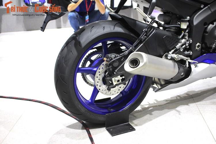 """Sieu moto Yamaha R6 2017 chinh hang """"cap ben"""" Viet Nam-Hinh-11"""