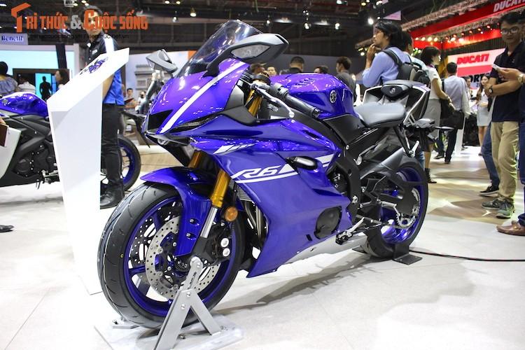 """Sieu moto Yamaha R6 2017 chinh hang """"cap ben"""" Viet Nam"""