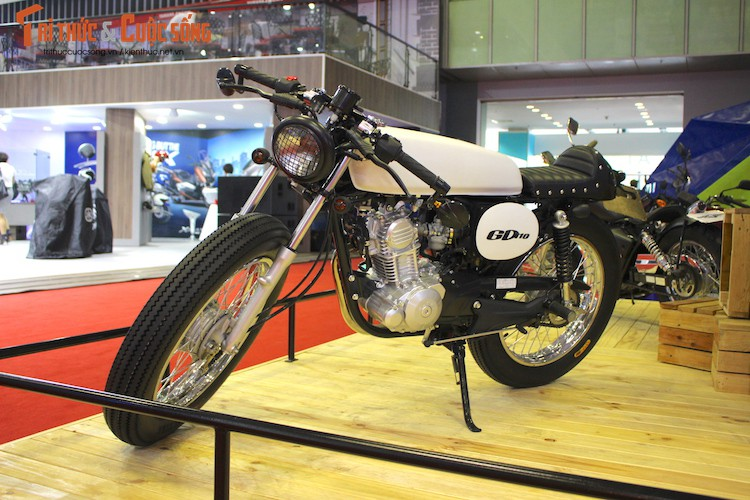 Goi do Suzuki GD110 Cafe Racer gia 14,5 trieu tai VN