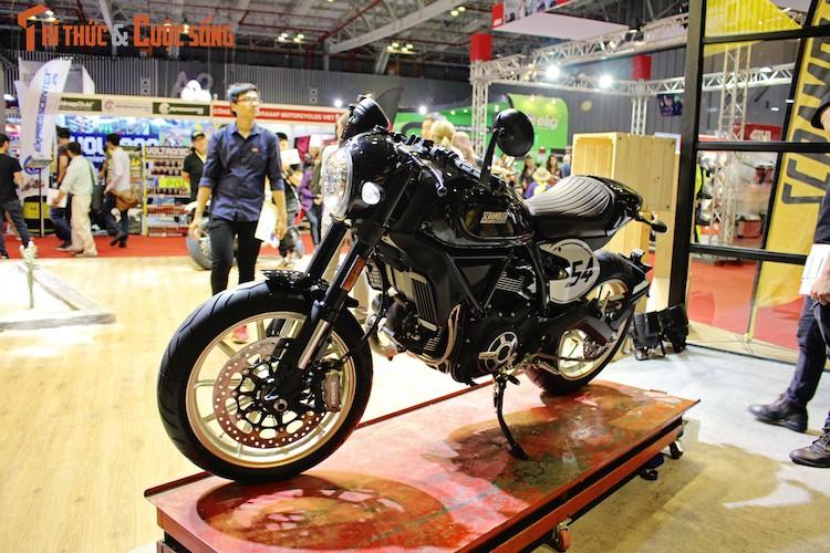 """""""Ca phe Y"""" Ducati Scrambler Cafe Racer gia 431 trieu dong-Hinh-2"""
