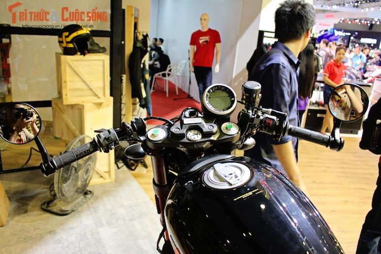 """""""Ca phe Y"""" Ducati Scrambler Cafe Racer gia 431 trieu dong-Hinh-4"""
