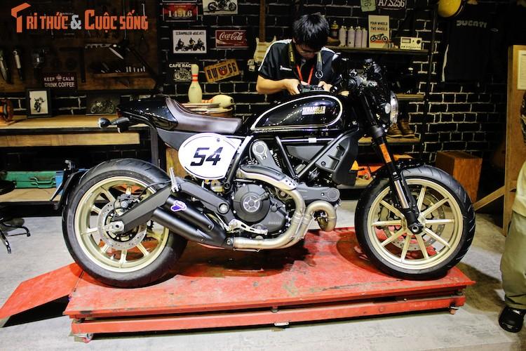 """""""Ca phe Y"""" Ducati Scrambler Cafe Racer gia 431 trieu dong-Hinh-5"""