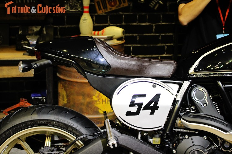 """""""Ca phe Y"""" Ducati Scrambler Cafe Racer gia 431 trieu dong-Hinh-6"""