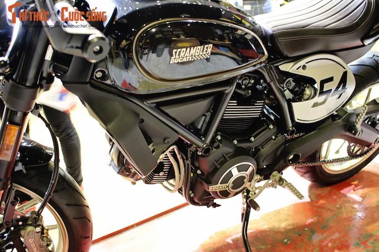 """""""Ca phe Y"""" Ducati Scrambler Cafe Racer gia 431 trieu dong-Hinh-7"""