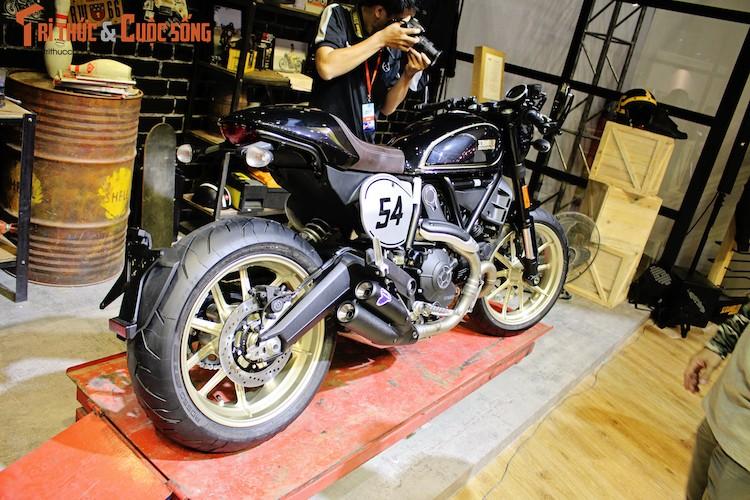 """""""Ca phe Y"""" Ducati Scrambler Cafe Racer gia 431 trieu dong-Hinh-9"""