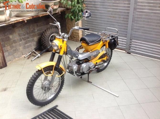 """Honda Super Cub CT90 Trail """"sieu hiem"""" tai Viet Nam"""