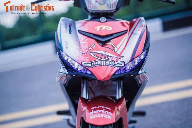 Yamaha Exciter 150 do kieng dam chat choi o Sai Gon-Hinh-2