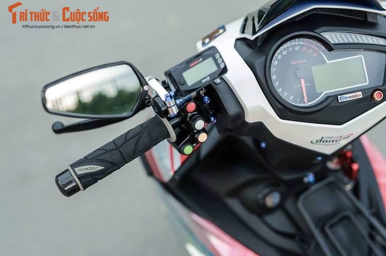 Yamaha Exciter 150 do kieng dam chat choi o Sai Gon-Hinh-5