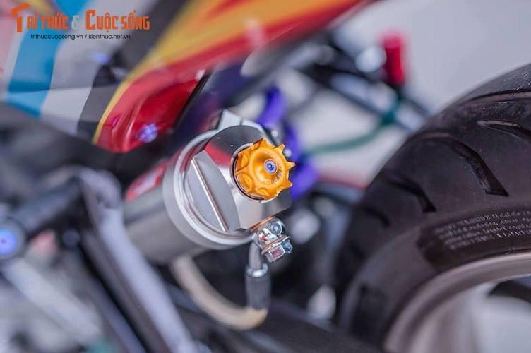 Yamaha Exciter 150 do kieng dam chat choi o Sai Gon-Hinh-7