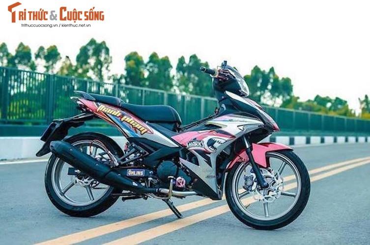 Yamaha Exciter 150 do kieng dam chat choi o Sai Gon-Hinh-8