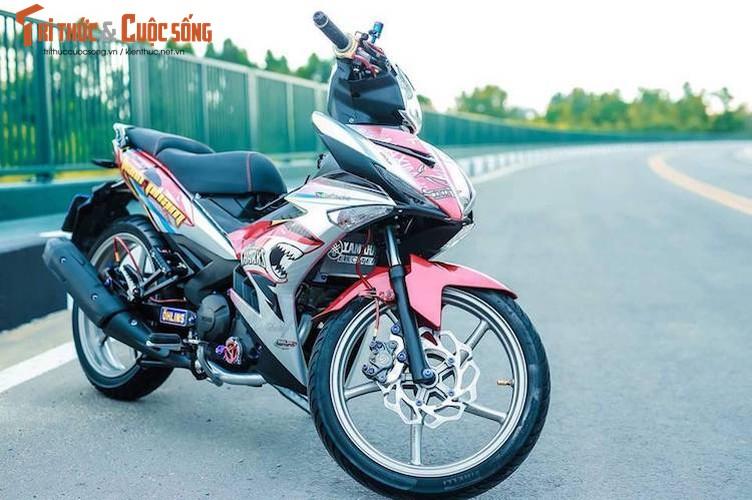 Yamaha Exciter 150 do kieng dam chat choi o Sai Gon