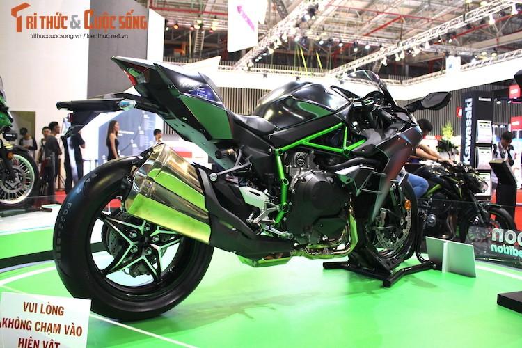 """Moto """"khung"""" Kawasaki Ninja H2 Carbon tien ty tai VN-Hinh-10"""