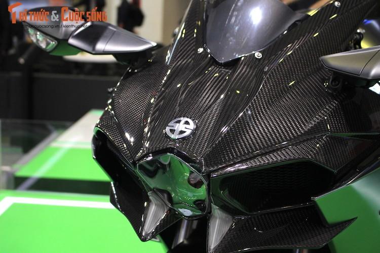 """Moto """"khung"""" Kawasaki Ninja H2 Carbon tien ty tai VN-Hinh-2"""