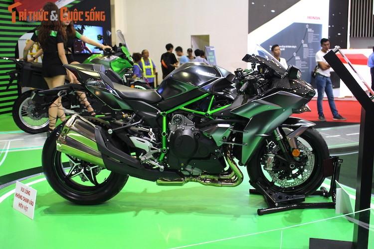 """Moto """"khung"""" Kawasaki Ninja H2 Carbon tien ty tai VN-Hinh-5"""