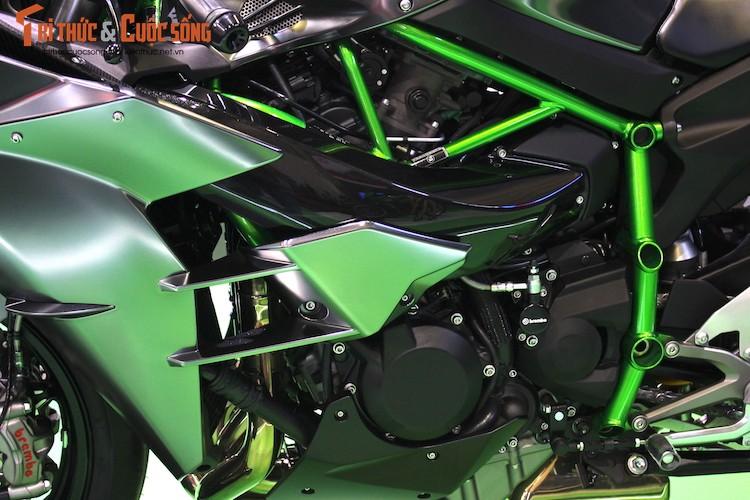 """Moto """"khung"""" Kawasaki Ninja H2 Carbon tien ty tai VN-Hinh-6"""