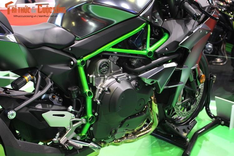 """Moto """"khung"""" Kawasaki Ninja H2 Carbon tien ty tai VN-Hinh-7"""