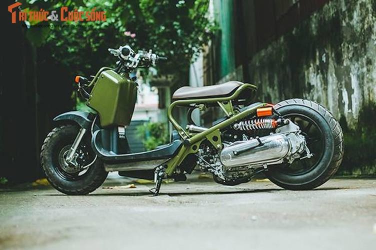 """Honda Zoomer 50 do phuoc hoi """"sieu doc"""" tai Ha Noi-Hinh-2"""