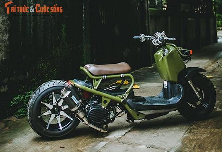 """Honda Zoomer 50 do phuoc hoi """"sieu doc"""" tai Ha Noi-Hinh-3"""