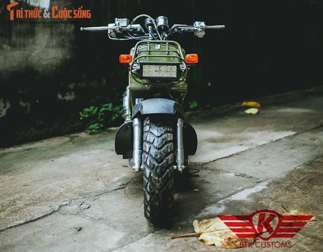 """Honda Zoomer 50 do phuoc hoi """"sieu doc"""" tai Ha Noi-Hinh-5"""