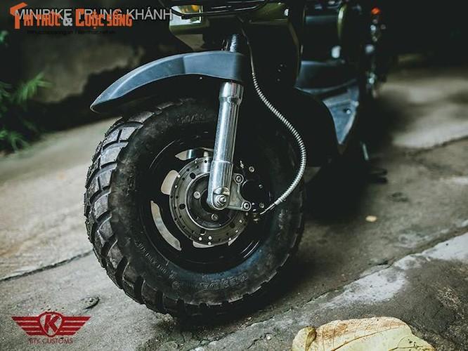 """Honda Zoomer 50 do phuoc hoi """"sieu doc"""" tai Ha Noi-Hinh-6"""