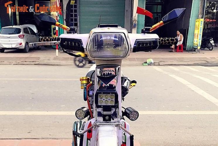 """Honda Dream II bien """"ngu quy 8"""" loe loet nhat Vinh Bac Bo-Hinh-3"""