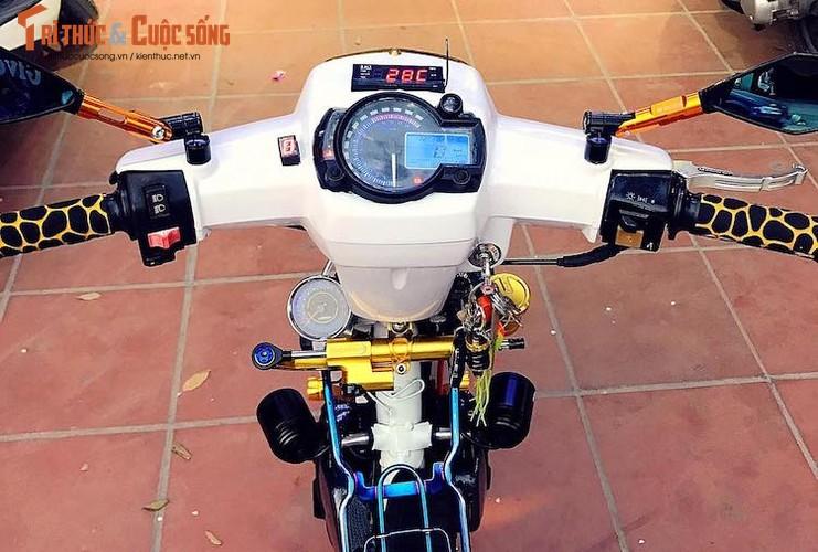 """Honda Dream II bien """"ngu quy 8"""" loe loet nhat Vinh Bac Bo-Hinh-5"""