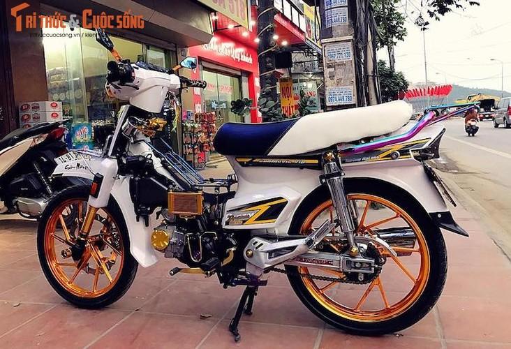 """Honda Dream II bien """"ngu quy 8"""" loe loet nhat Vinh Bac Bo-Hinh-8"""