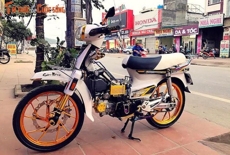 """Honda Dream II bien """"ngu quy 8"""" loe loet nhat Vinh Bac Bo"""