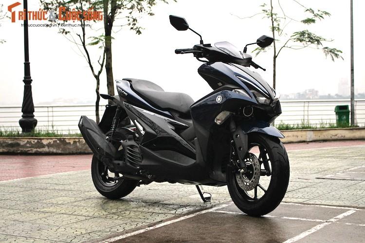 Yamaha NVX 125 gia 41 trieu tai Viet Nam co dang tien?