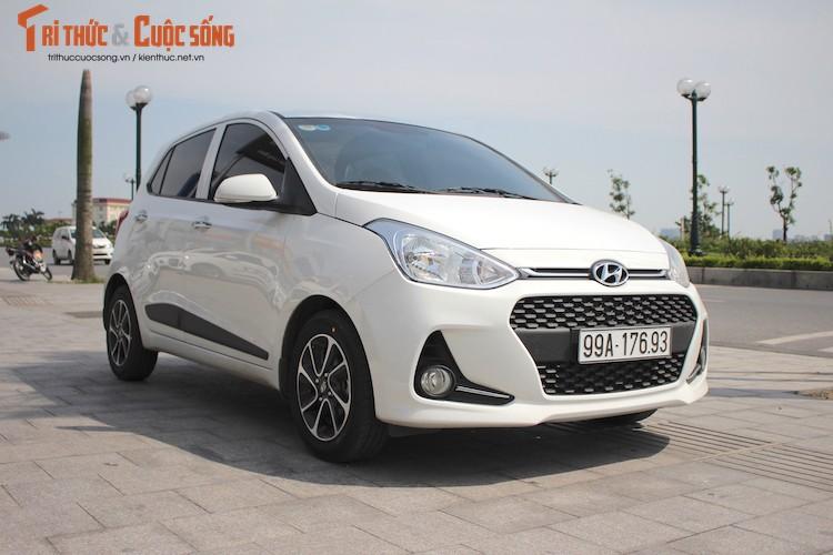 Hyundai i10 cao cap 2017 gia 455 trieu tai Viet Nam