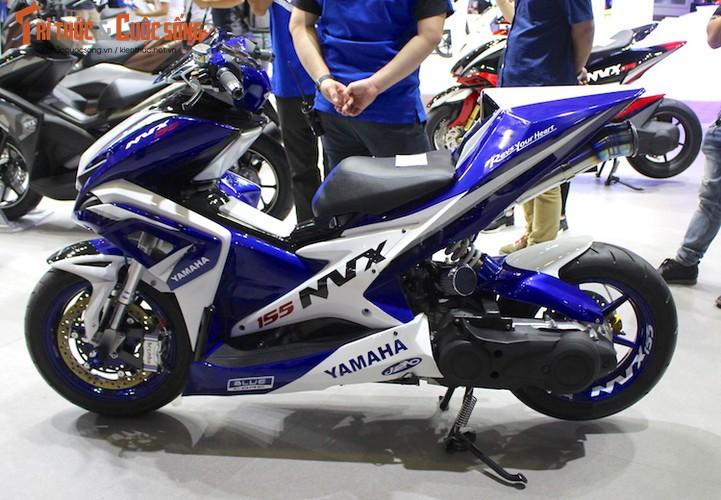 """Yamaha Viet Nam """"do khung"""" xe tay ga NVX 155-Hinh-2"""