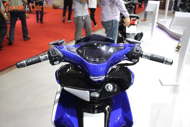 """Yamaha Viet Nam """"do khung"""" xe tay ga NVX 155-Hinh-5"""