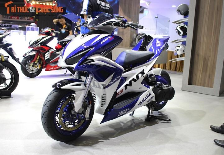 """Yamaha Viet Nam """"do khung"""" xe tay ga NVX 155"""