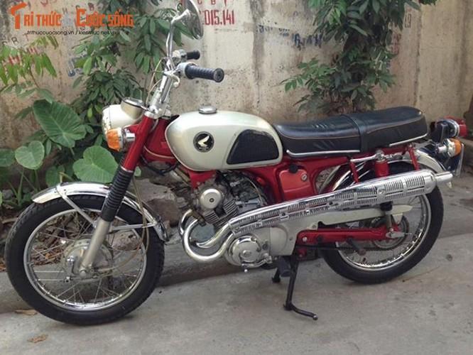 """Thuoc doc"" Honda CL125 doi 1968 con zin tai Ha Noi-Hinh-8"