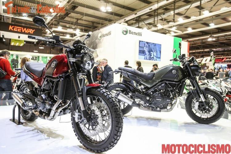 "Moto Benelli Leoncino ""chot gia"" 140 trieu tai Viet Nam"
