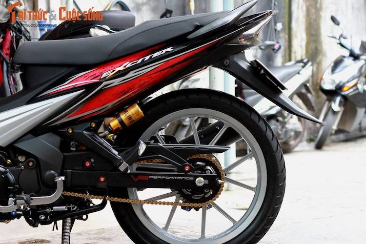 Yamaha Exciter 135 doi dau sieu chat tai Sai Gon-Hinh-6