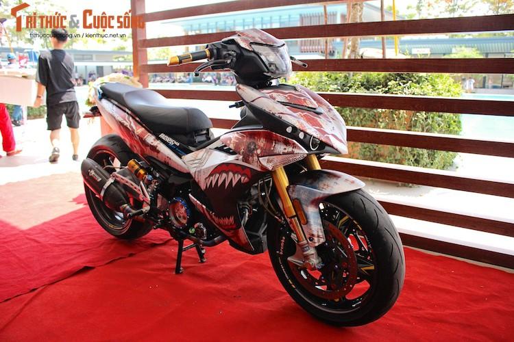 """Yamaha Exciter do het 300 trieu """"khung"""" nhat Viet Nam"""