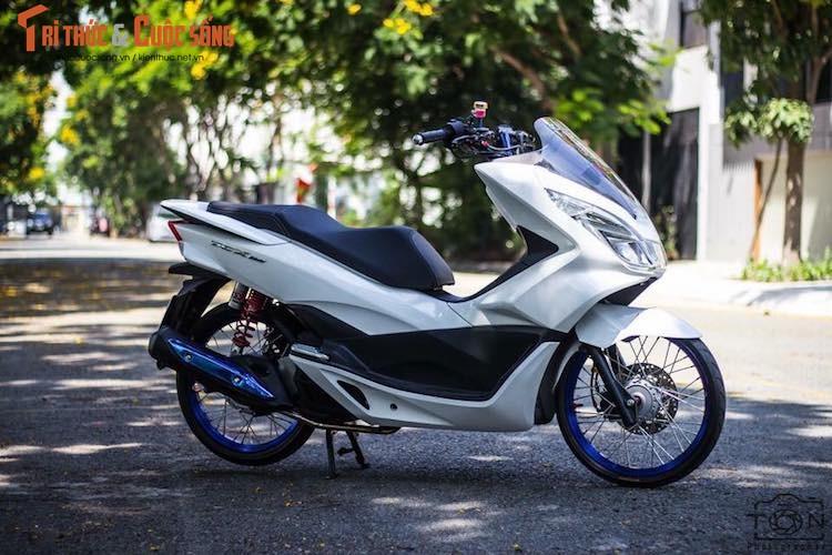Honda PCX 150 do tinh te, dam chat choi o Sai Gon