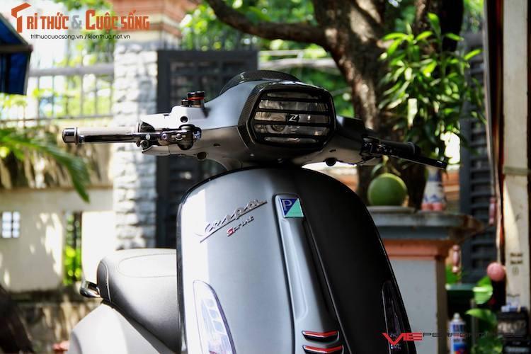 "Dan choi Sai Gon do ""khung"" xe ga Piaggio Vespa Sprint-Hinh-3"