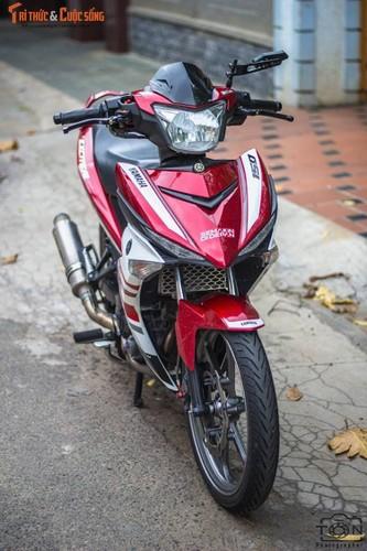 "Yamaha Exciter 150 do kieng, bien ""khung"" tai Vung Tau-Hinh-2"