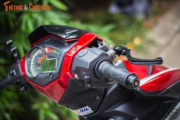 "Yamaha Exciter 150 do kieng, bien ""khung"" tai Vung Tau-Hinh-4"