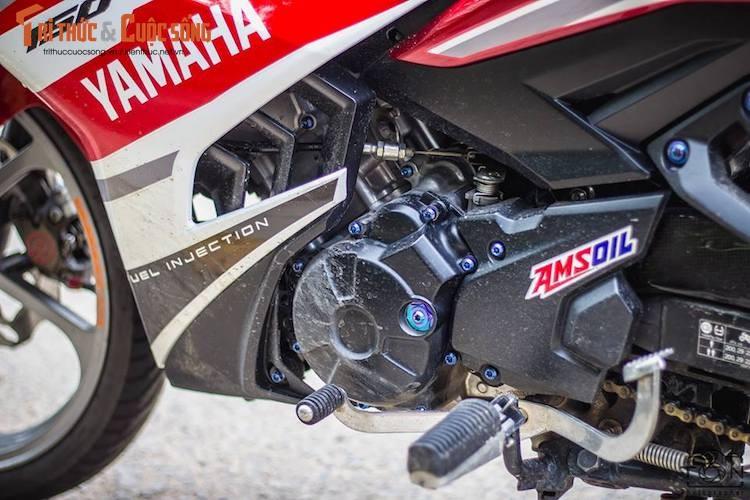 "Yamaha Exciter 150 do kieng, bien ""khung"" tai Vung Tau-Hinh-5"