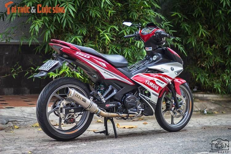 "Yamaha Exciter 150 do kieng, bien ""khung"" tai Vung Tau"