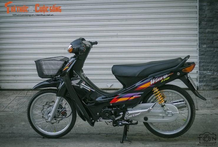 "Honda Wave 110 Thai do ""kieng nhu zin"" tai Viet Nam"