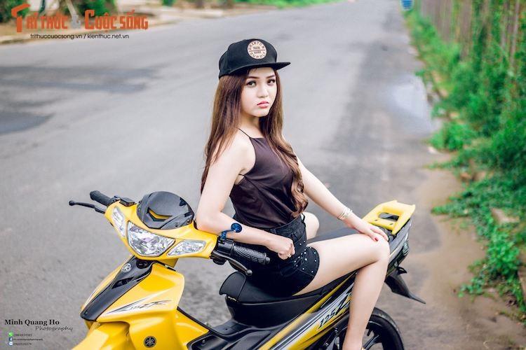 "Chan dai Viet ben ""xe no"" Yamaha 125ZR hon 200 trieu-Hinh-2"