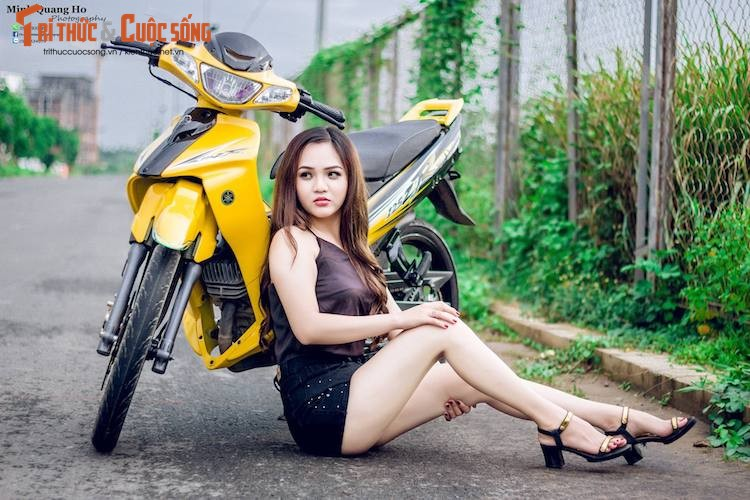 "Chan dai Viet ben ""xe no"" Yamaha 125ZR hon 200 trieu-Hinh-4"