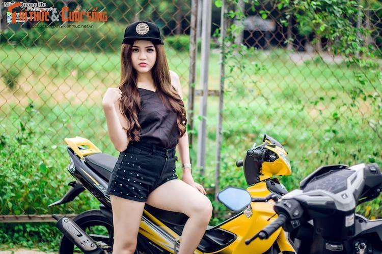 "Chan dai Viet ben ""xe no"" Yamaha 125ZR hon 200 trieu-Hinh-5"