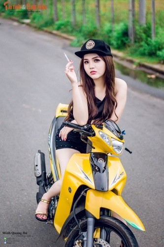 "Chan dai Viet ben ""xe no"" Yamaha 125ZR hon 200 trieu-Hinh-7"