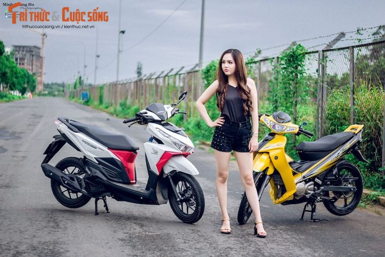"Chan dai Viet ben ""xe no"" Yamaha 125ZR hon 200 trieu-Hinh-9"